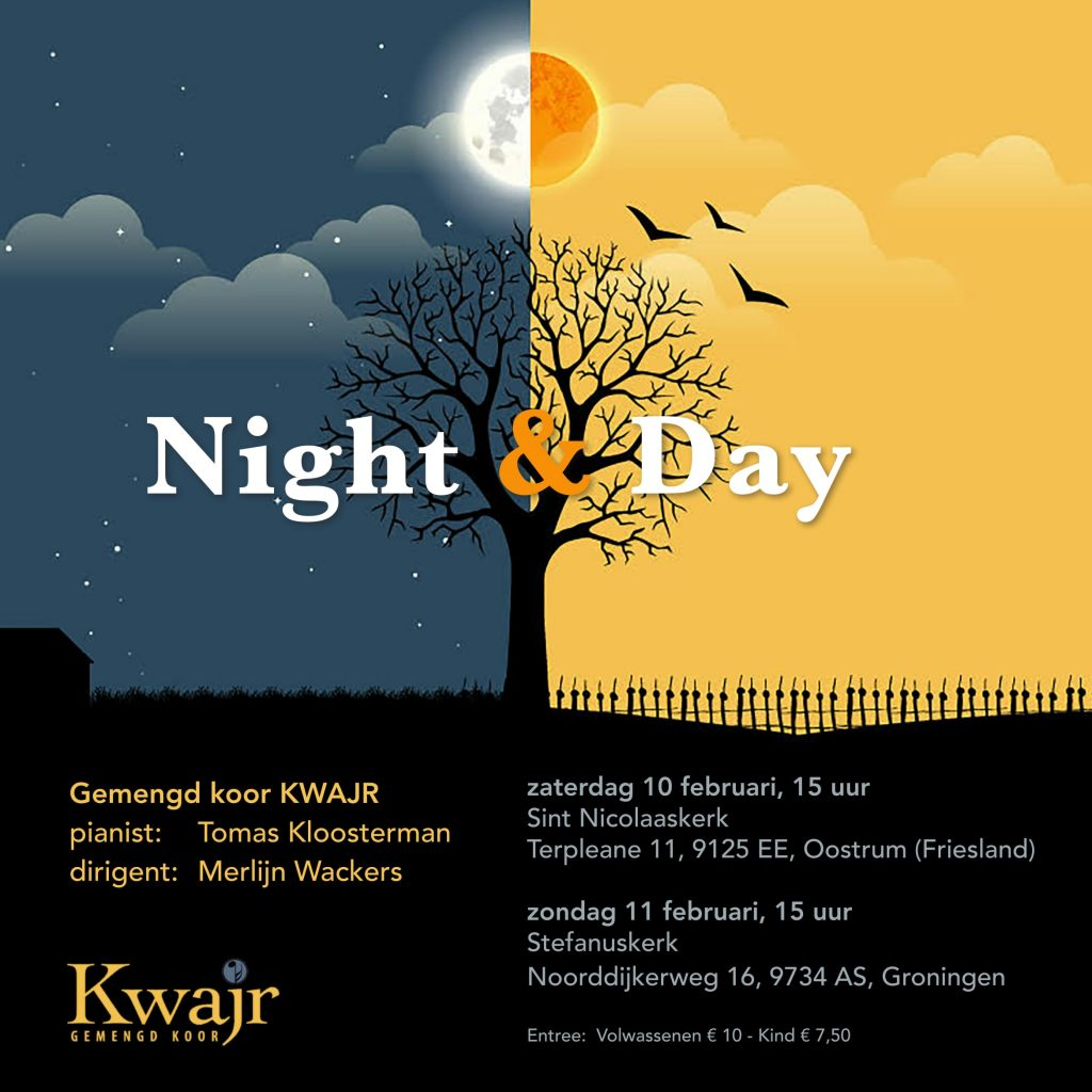 Night Day koor Kwajr 2018